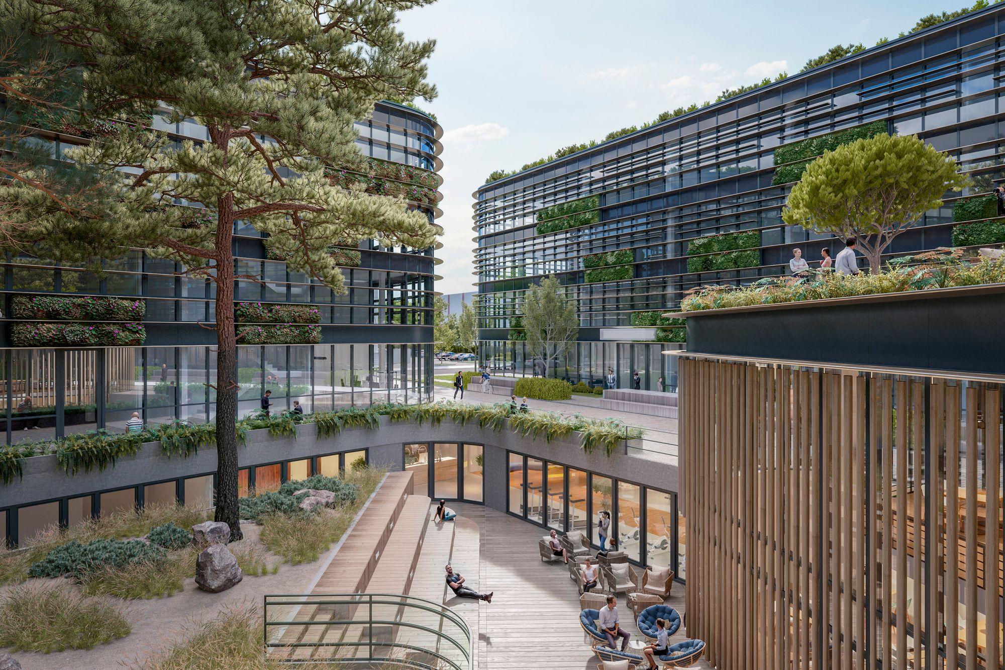 greenovation campus hegauerweg berlin - igp projekt gmbh